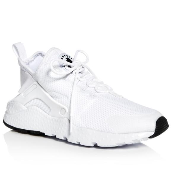 Nike Air Huarache Sneakers (Women's; White)